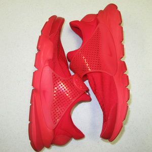 Nike Sock Dart Triple Red - 819686-600 men's 13